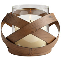 Infinity 4 inch Candleholder, Small, Candle(s) not included