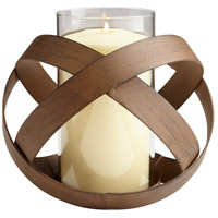 Infinity 6 inch Candleholder, Medium, Candle(s) not included