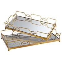 Cyan Design 06218 Nephrite Antique Gold Tray