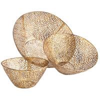Cyan Design 06224 Sydne Antique Gold Bowl