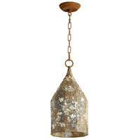 Cyan Design 06258 Collier 1 Light 8 inch Rustic Pendant Ceiling Light Small