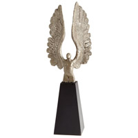 Cyan Design 06300 A Wing And A Prayer Silver and Black Sculpture