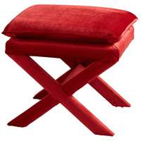 Otto 20 inch Red Stool