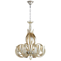 Lucille 8 Light 27 inch Chrome Chandelier Ceiling Light