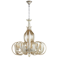 Lucille 10 Light 32 inch Chrome Chandelier Ceiling Light