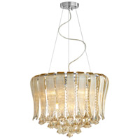 Olivia 7 Light 20 inch Chrome Pendant Ceiling Light
