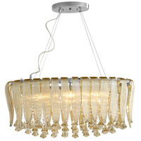 Olivia 6 Light 14 inch Chrome Pendant Ceiling Light