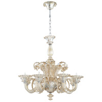 Lascala 8 Light 36 inch Chrome Chandelier Ceiling Light