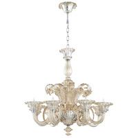 Cyan Design 06445 Lascala 8 Light 36 inch Chrome Chandelier Ceiling Light