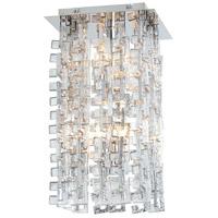 Cyan Design 06501 Athropolis 4 Light 10 inch Chrome Pendant Ceiling Light Small