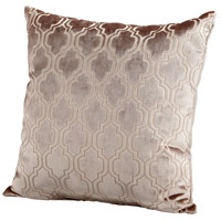 Flight Pattern 22 X 22 inch Taupe Pillow