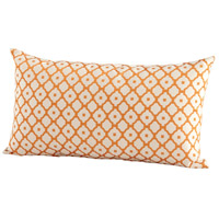 Cyan Design 06519 Dot Matrix 24 X 14 inch Orange Pillow