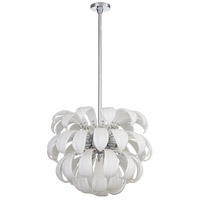 Cyan Design 06587 Day Lily 7 Light 24 inch Chrome Pendant Ceiling Light