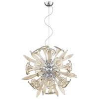 Remy 12 Light 33 inch Cognac Pendant Ceiling Light, Small
