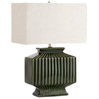 Cyan Design 06612 Hamilton 24 inch 100.00 watt Green Table Lamp Portable Light in Bulb Not Included