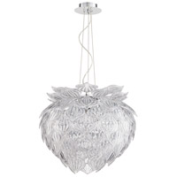 Okey Dokey 9 Light 22 inch Chrome Pendant Ceiling Light