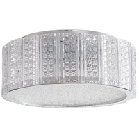 Aaria 2 Light 10 inch Chrome Flush Mount Ceiling Light