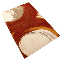 Cyan Design 06933 Percival 133 X 94 inch Orange and Ivory Rug