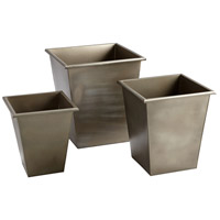 Mezzanine Grey Outdoor Planter