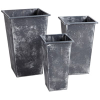 Calder Zinc Outdoor Planter