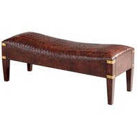 Cyan Design 06970 Mechi Brown Bench