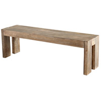 Cyan Design 07012 Segvoia Weathered Pine Bench