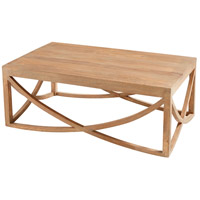 Lancet Arch 47 X 28 inch Light French Grey Coffee Table