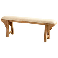 Cyan Design 07021 Gable Light French Grey Bench