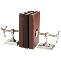 Hot And Cold 9 X 4 inch Nickel Bookends