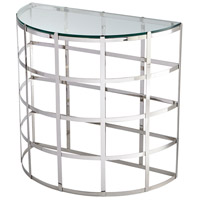 Ecliptic 32 X 16 inch Stainless Steel Console Table