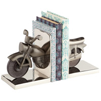 Cyan Design 07055 Cruiser Nickel Bookends