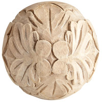 Cyan Design 07174 Wreath Natural Ash Filler, Medium Round