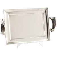 Cyan Design 07207 Agata Stainless Steel Tray