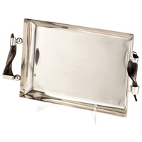 Cyan Design 07211 Arezzo Stainless Steel Tray