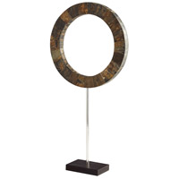 Cyan Design 07218 Portal Brown and Stainless Steel Sculpture Large