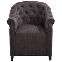 Cyan Design 07225 Sultry Charcoal Chair Home Decor