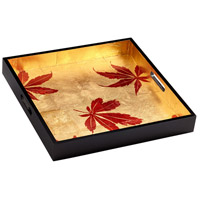 Cyan Design 07231 Turn a New Black and Gold Tray