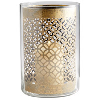 Cyan Design 07236 Versailles Gold Candleholder Large Candle(s) not included