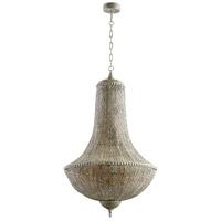 Cyan Design 07243 Dorija 5 Light 24 inch Antique Silver Pendant Ceiling Light