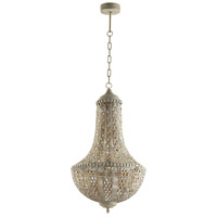 Cyan Design 07244 Tangier 1 Light 17 inch Antique Silver Pendant Ceiling Light