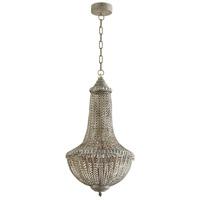 Cyan Design 07245 Berber 1 Light 14 inch Antique Silver Pendant Ceiling Light