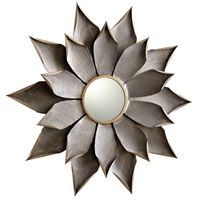 Cyan Design 07246 Blossom Graphite Wall Mirror, Small