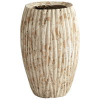 Rotundus Brown Outdoor Planter, Small Round