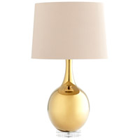Cyan Design 07450 Androneda 29 inch 100 watt Gold Table Lamp Portable Light