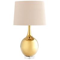 Cyan Design 07450 Androneda 29 inch 100 watt Gold Table Lamp Portable Light