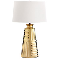Cyan Design 07453 Aaliyah 31 inch 100 watt Gold Table Lamp Portable Light