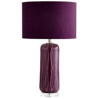 Cyan Design 07454 Violetta 29 inch 100 watt Purple Table Lamp Portable Light