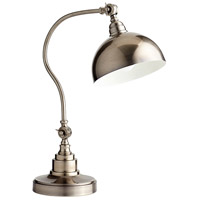 Chemile 21 inch 100 watt Pewter Desk Lamp Portable Light