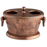 Cyan Design 07524 Caldero Old Vintage Copper Container thumb