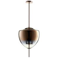 Cyan Design 07590 Ember 3 Light 16 inch Satin Copper Pendant Ceiling Light